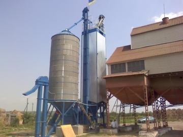 Изготовлен и введен в эксплуатацию очередной зерносушильный комплекс
