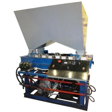 Универсальный гидравлический пресс для производства топливных брикетов