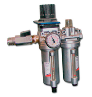 Air preparation system of pneumatic drive system