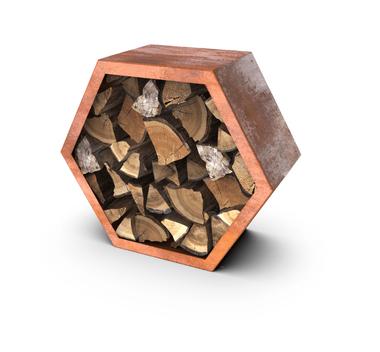 Деревянный ящик для хранения 100 x 38,5 x 100 см
