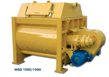 Двохвальні бетонозмішувачі серії MSO
