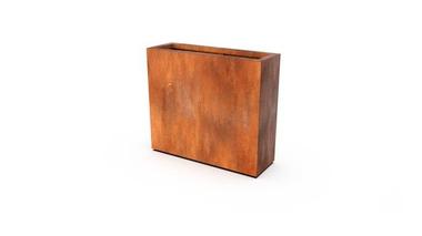 Кашпо Artesa цвета ржавчины 90x30x80 см