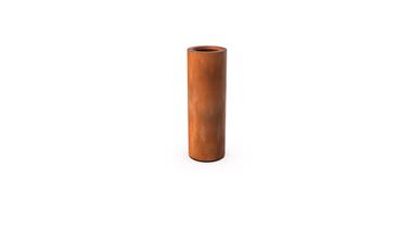 Кашпо Ronda цвета ржавчины 60x35 см