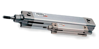 Pneumatic cylinders of the pneumatic drive system