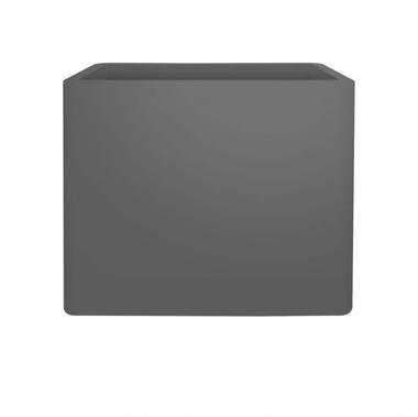 Кашпо из чистого мягкого кирпича 80 большая кашпо антрацитового цвета внутри и снаружи l 39,5 x ширина 79 x высота 65 см