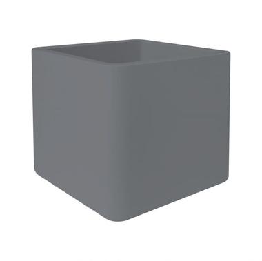 Кашпо з чистого м'якого цегли 50 бетон для рослин всередині і зовні l 49 x w 49 x h 49 см