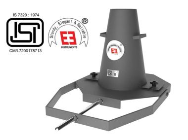 Slump Test Apparatus with Tamping Rod – Isi Marked (TM-165-ISI)